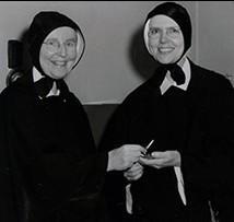 Sisters Maria Magdelan McKelvey (later Marian McKelvey) and Sister Julia Theresa Dolan