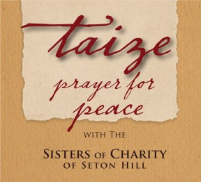 Change of location for Taize Prayer for Peace